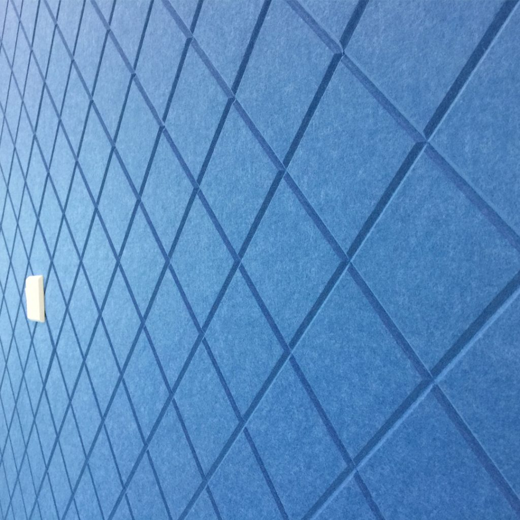 Acoustic Panel Wall Design