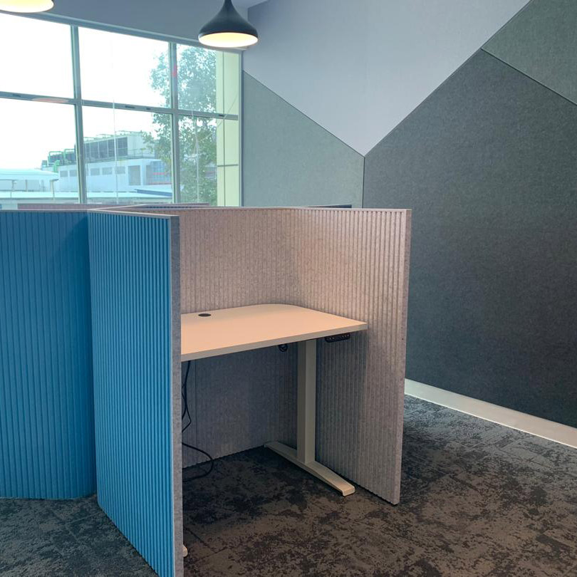 Acoustic Panel Workstation