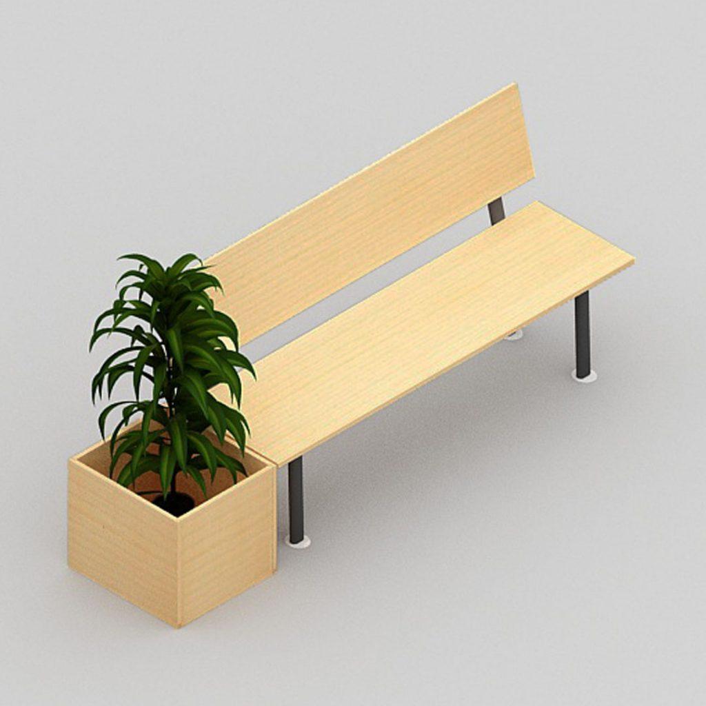 Garden Bench Module