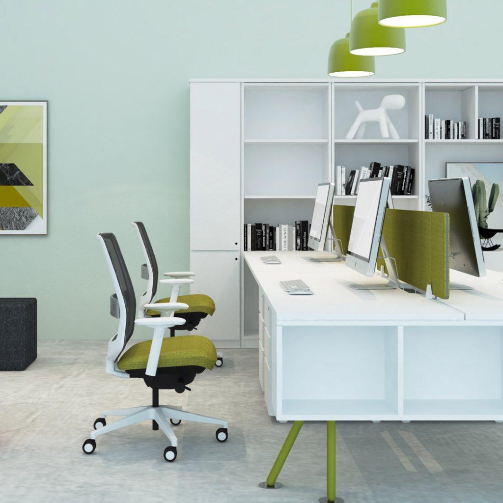 Office Furniture Workstation Green