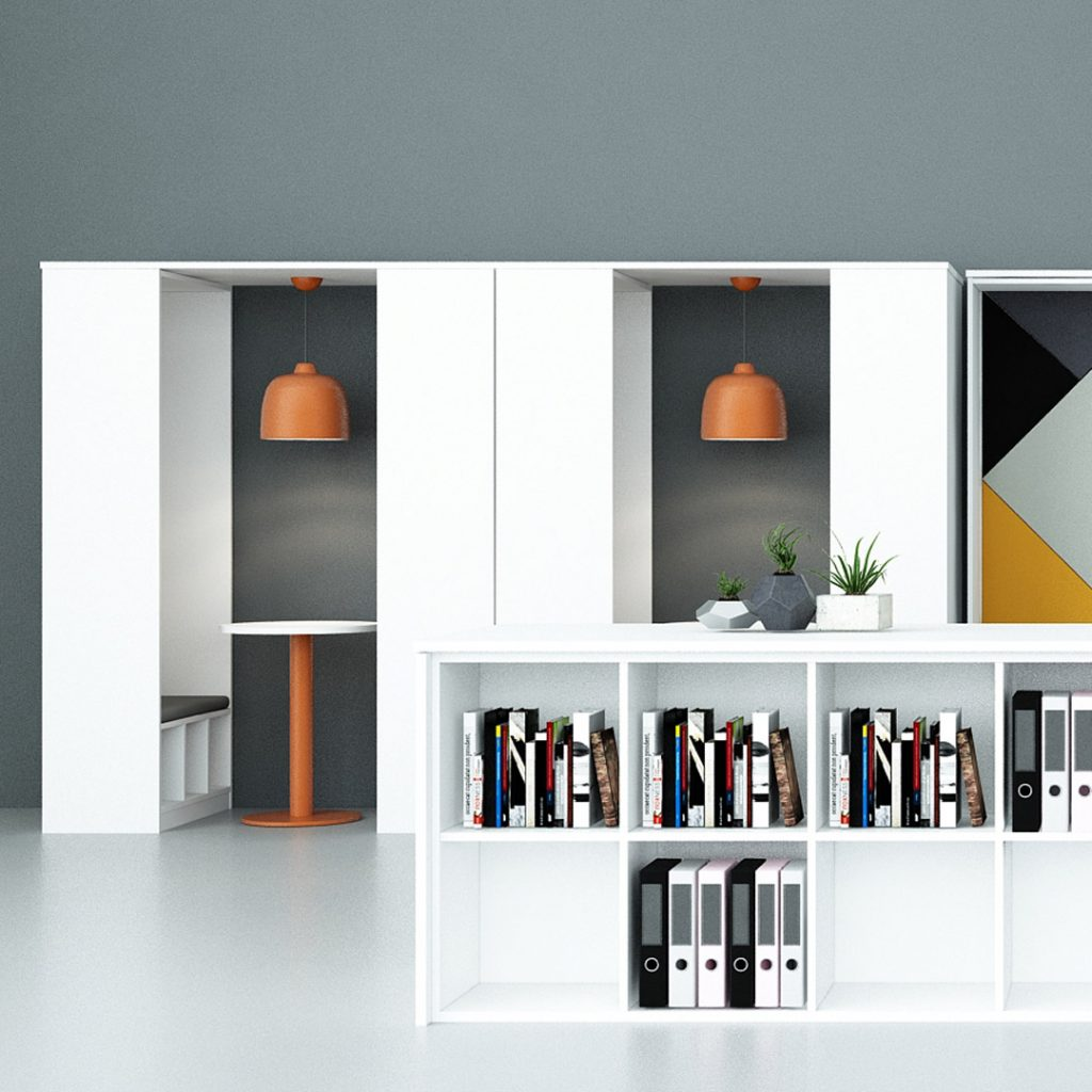 Office Furniture double pod
