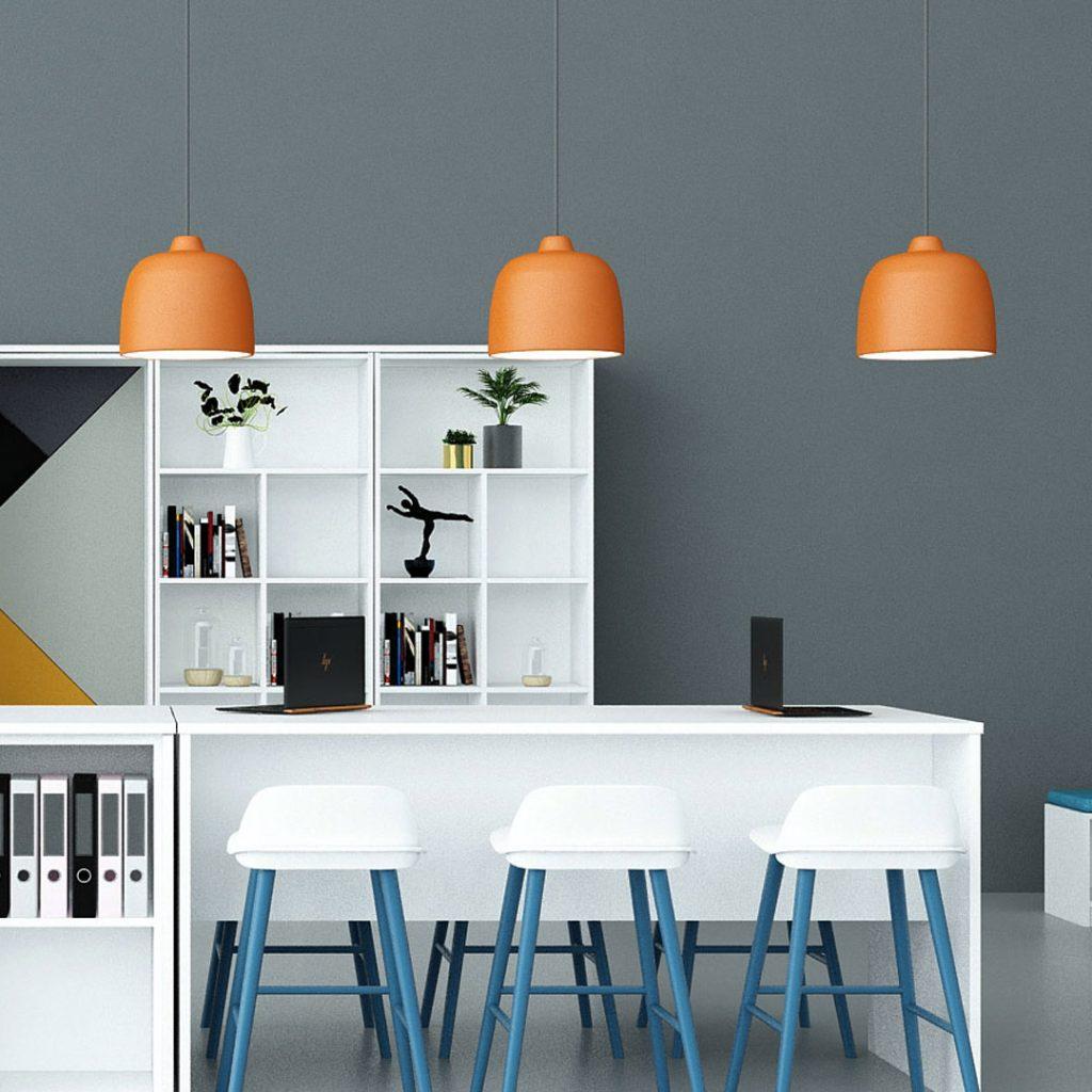 Office Pandant Lights Orange