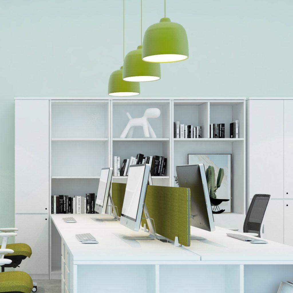 Workstation Pandant Lights Green